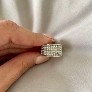 Swarovski-  crystal ring size 7never worn brandnew